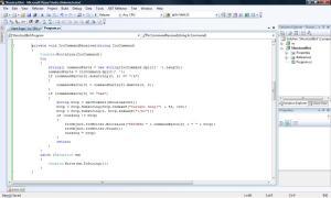rss reddit irc bot c# command line