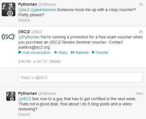 ISC2 scam